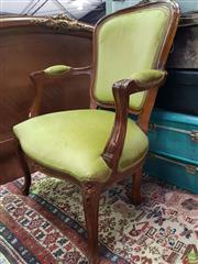 Sale 8589 - Lot 1090 - French Style Timber Chair