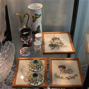 Sale 8231 - Lot 82 - Wedgewood Salt & Peppers with Other Wares incl Browny Downing Prints