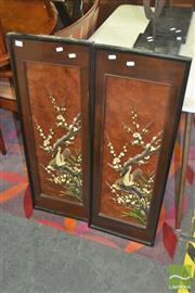 Sale 8331 - Lot 1073 - 2 Panel Oriental Screen