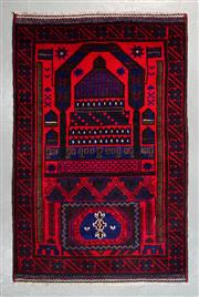 Sale 8499C - Lot 28 - Persian Baluchi 137cm x 89cm