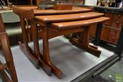 Sale 8511 - Lot 1084 - G-Plan Teak Nest of Tables
