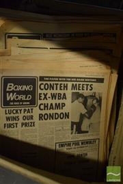 Sale 8530 - Lot 2304 - Collection of Boxing Papers incl. Boxing World; Boxing; etc