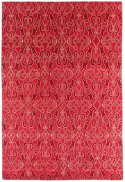 Sale 8563A - Lot 18 - The Florence Broadhurst Collection Design; Paris Made in; Nepal Colour; Scarlet Made from; Tibetan Wool & Chinese Silk Siz...
