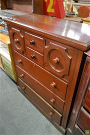 Sale 8566 - Lot 1615 - Victorian Chest of Drawers