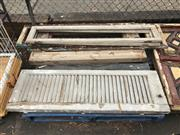 Sale 8839 - Lot 1374 - Collection of Timber Window Frames