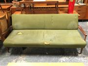Sale 8859 - Lot 1082 - Vintage G-Plan Teak Click-Clack Lounge (some wear to upholstery)