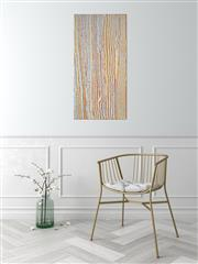 Sale 9043A - Lot 5066 - Ena Nakamarra Gibson (c1948 - 2011) - Water Dreaming 122 x 61 cm (stretched and ready to hang)