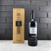 Sale 9062 - Lot 723 - 1x 1990 Lindemans '150th Anniversary' Cabernet Sauvignon, Coonawarra - 1500ml magnum in timber box