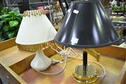 Sale 7974A - Lot 1013 - Two Table Lamps