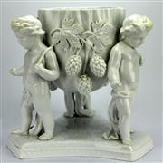 Sale 8139 - Lot 12 - Copeland T. Goode & Co Cherub Jardiniere
