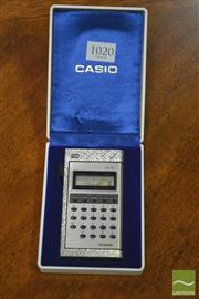 Sale 8326 - Lot 1020 - Boxed Casio Calculator