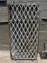 Sale 8451B - Lot 14 - C18th French Butchers Grill, in cast iron