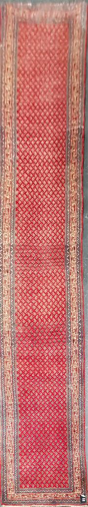 Sale 8760 - Lot 1070 - Persian Hamadan Runner (530 x 80cm)