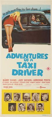 Sale 8822A - Lot 5110 - Adventures of a Taxi Driver - 76 x 34.5cm