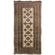 Sale 8830C - Lot 31 - An Afghan Vintage Natural Beluch in Handspun Wool 270x145 cm