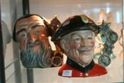 Sale 7875 - Lot 59 - Royal Doulton Toby Jugs Merlin & Chelsea Pensioner