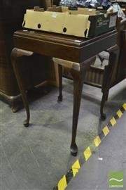 Sale 8284 - Lot 1081 - Square Line Occasional Table
