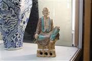 Sale 8339 - Lot 23 - Sancai Luohan Immortal Figure