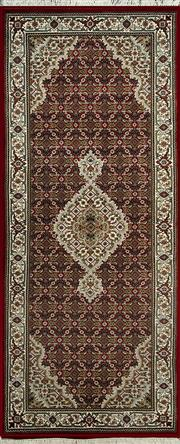 Sale 8345C - Lot 56 - Indo Tabriz 200cm x 80cm