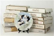 Sale 8461 - Lot 43 - Bradford Exchange Collectors Plates & Book incl Pandas