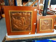 Sale 8682 - Lot 2089 - 3 Copper Plaques