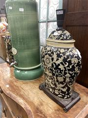 Sale 8896 - Lot 1055 - Pair of Oriental Style Table Lamps