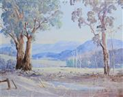 Sale 8945A - Lot 5050 - Les Rees (1914 - 2001) - Gums in Sunlight, Buckland Valley 39 x 49 cm