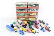 Sale 8985 - Lot 80 - A Set Of 8 Matchbox Models Of Yesteryear Cars Together With Some Loose Examples And Empty boxes