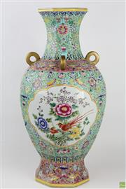 Sale 8572 - Lot 84 - Large Famille Rose Vase