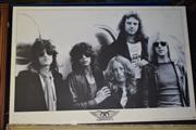 Sale 8410T - Lot 2046 - Aerosmith Poster On Board