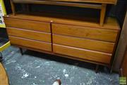 Sale 8511 - Lot 1100 - Good Danish Teak Dressing Chest with Six Drawers
