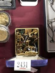 Sale 8797 - Lot 2431 - Gents Costume Jewellery incl Munchen Olympic Pin