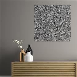 Sale 9092A - Lot 5090 - Rachael Nambula (c1970 - ) - Pencil Yam 60 x 60 cm (stretched and ready to hang)