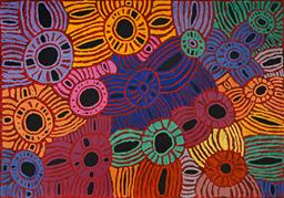Sale 9148A - Lot 5027 - GLENYS GIBSON NUNGURRAYI (1968 - ) Women's Ceremony acrylic on canvas 141 x 201 cm (stretched and ready to hang) signed verso; certi..