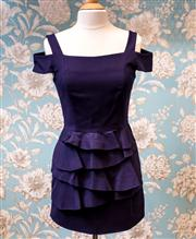 Sale 8474A - Lot 17 - A great Nylon Flocks by Nicola Finetti dress, in excellent condition, size 12