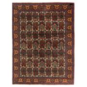 Sale 8830C - Lot 35 - An Indian Antique Kashmir (signed) in Handspun Wool 207x155 cm