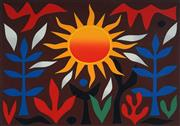 Sale 8859A - Lot 5019 - John Coburn (1925 - 2006) - Sun in the Garden, 1989 53 x 74cm