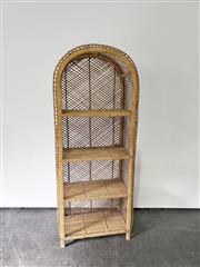 Sale 9063 - Lot 1092 - Cane Tiered Stand (H137cm)