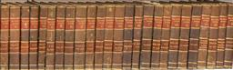 Sale 9190W - Lot 34 - A set of 25 leather bound volumes, The Waverley novels.