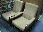 Sale 7974A - Lot 1064 - Pair of 60s Reclining Chairs