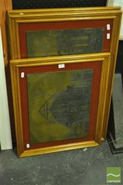 Sale 8214 - Lot 2069 - Collection of (3) Etching Plates
