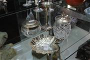 Sale 8311 - Lot 15 - English Hallmarked Sterling Silver Candle Stick with Others incl Pin Dish (Weight - 120g)