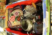 Sale 8346 - Lot 2330 - Collection Of Sundries Incl Condiment Set and Napkin Rings Etc