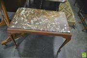 Sale 8352 - Lot 1049 - Marble Top Coffee Table