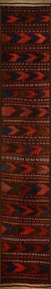 Sale 8402C - Lot 97 - Persian Kilim Runner 325cm x 60cm