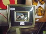Sale 8487 - Lot 2096 - Original work Baby Bird Signed Lower Right Josephine Anne Smith  (16 x 15cm)