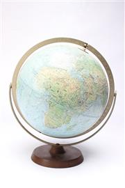 Sale 8701 - Lot 88 - Retro World Globe On Stand