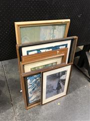 Sale 8836 - Lot 2066 - Group of Prints and Pictures incl Margaret Preston and Monet