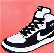 Sale 8381A - Lot 76 - Jack Vigor (Street Artist, CASPER) - NIKE: Airforce One, 2015 122x 122cm (framed & ready to hang)