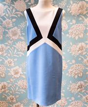 Sale 8474A - Lot 19 - A classic Emilio Pucci woollen shift dress, in 60s style with mod style pattern & silk lining, great condition, size 12